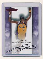 LISA LESLIE 2000 SKYBOX DOMINION WNBA AUTOGRAPHICS #6 AUTO *LOS ANGELES SPARKS*