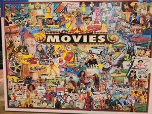 Movies 1000 piece White Mountain Jigsaw Puzzle 24 by 30 2019