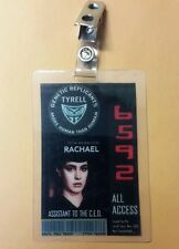 Blade Runner ID Badge-Tyrell Rachael All Access prop cosplay costume