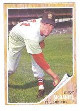 1962 TOPPS LINDY MCDANIEL #522 ST. LOUIS CARDINALS HIGH SERIES - NEAR MINT!