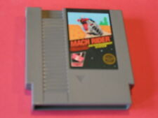 MACH RIDER ORIGINAL RARE NINTENDO GAME SYSTEM NES HQ