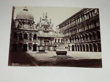 NAYA / VENISE VENEZIA 1870 Palazzo Ducale VINTAGE Albumen Print Photo Foto