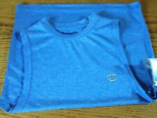 Boys Champion Blue Double Dry Tank - Size S - New