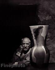 1954/83 Vintage PABLO PICASSO By YOUSUF KARSH Artist Painter Sculptor Art 11x14