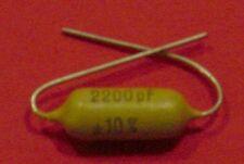 NOS Mullard/Philips Mustard Capacitor 0.0022uF 2n2 400V for Marshall Plexi, Hifi