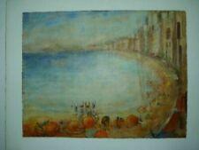 Malereien auf Papier im Impressionismus-Stil