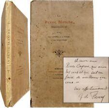 La Revue Blanche fantaisie locale 1900 Laporte de Fleury Lemarchand Bordeaux