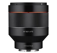 Rokinon AF 85mm f/1.4 Auto Focus High Speed Telephoto Lens for Sony E