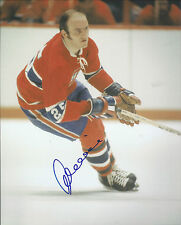 GFA Montreal Canadiens * JACQUES LEMAIRE * Signed 8x10 Photo AD2 COA