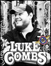 """Luke Combs  """"Country ROCK Music"""" Personalized T-shirts"""