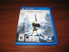 PlayStation Vita PS Child of Light Ubisoft
