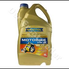 RAVENOL Motorrad Öl 4T 20W40 mineralisch 4L