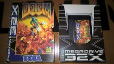 ## SEGA Mega Drive 32X - Doom - TOP / USK18 Spiel ##