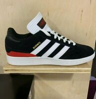 Adidas Busenitz Pro Men's Skateboard Shoes - Core Black / White / Scarlet Red