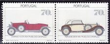 SELLOS COCHES PORTUGAL 1992 1870/71 2v. HISPANO - SUIZA/  MERCEDES 38OK 1934