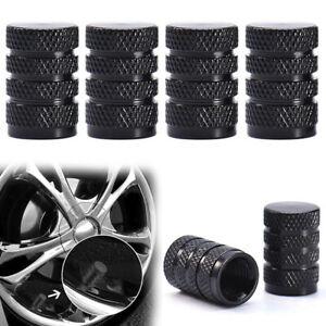 4 x Car Wheel Tyre Valve Stems Air Dust Cover Screw Cap Accessories Aluminium
