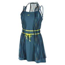 nwt~Nike MARIA SHARAPOVA GOLDEN SET Dri Fit Tennis top Dress shirt-skirt Women L