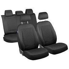 Intensiv Schwarz klein Karomuster Sitzbezüge für BMW X5  Set