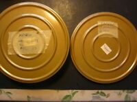 """1970's Home Movies Ten Full Tins of 8 Millimeter 7"""" Reels 5 Different Countries"""