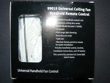 Casablanca 99019 Universal  Ceiling Fan Handheld Remote 4 Speed Control System