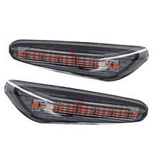 2X LED Side Marker Turn Signal Light Lamp Amber For BMW E60 E61 E90 E91 E92 E93