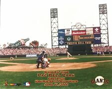 SAN FRANCISCO GIANTS 8x10 (1st Pitch @Pac Bell Park) AT&T STADIUM Baseball Photo