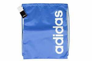 Adidas Shoe Sack String Bag Shoulder Unisex Blue PE Football Training Gym Men