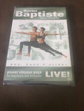 Baron Baptiste Core Power Live!: Power Vinyasa Yoga for Beginners @NEW Sealed!@