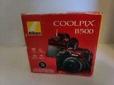 NEW NIB Nikon Coolpix B500 16MP Digital Camera 40x Optical Zoom - Red (26508)