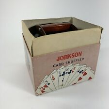 Vintage Nestor Johnson Card Shuffler in Original Box No. 50