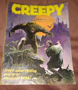 Creepy Magazine #4 1965 Frank Frazetta Cover