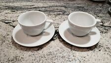 Nespresso Collection Cappuccino Coffee Cup & Saucer (Set of 2) (5 oz.) Perfect