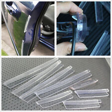 8 Pcs Transparent Automobile Door Protector Crash Bars Anti-Rub Strips For Ford