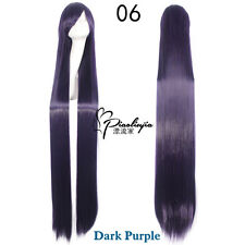 150cm Long Straight Cosplay Anime Carnival party Wig heat resistant 11 Colors