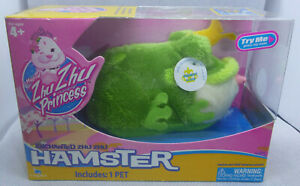 2010 Enchanted Zhu Zhu Princess Hamster RIBBIT Item Number 86138 NEW IN PACKAGE