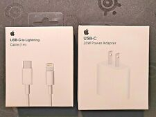 Apple OEM Type-C 20-Watt Charger & USB Type-C Cable 1m/3ft For new iPhone