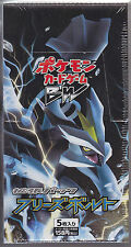 Pokemon Card BW6 Booster Freeze Bolt Sealed Box 1st Edition Japanese
