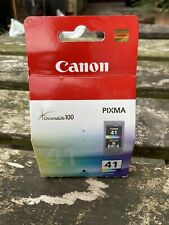 Genuine Original Canon PG-41 Colour Ink Cartridge Pixma