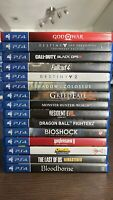 Sony PS4 GAMES LOT, USED - YOU PICK