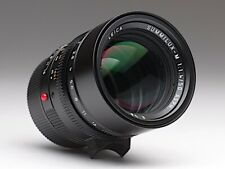 Leica Summilux-M 50mm f/1.4 ASPH schwarz, 6-bit, 11891