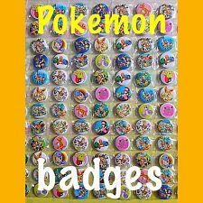 Pokemon Party Bag Fillers. Pokemon Goodie Bags. Pokemon Badges Set Of 10