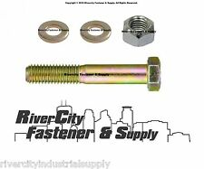 9/16 x 4-1/2 Chevy / GM & Dodge & Ford Truck Leaf Spring Bolt & lockNut & Washer