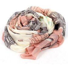 Elegant Women Long Print Cotton Scarf Wrap Ladies Shawl Large Silk Scarves FP