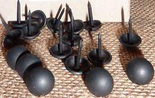 Lot de 250 Clous Décoratif Tapissier Noir Mat 11mm Fauteuils Chaises