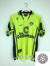 Retro DORTMUND 96/97 Home Football Shirt (M) Soccer Jersey Nike
