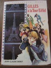 Jean-Claude Deret: Gilles à la Tour Eiffel / Bibliothèque Rose, 1975