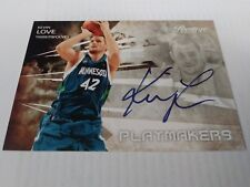 Kevin Love 2009-10 Prestige Playmakers Auto #61/100 Timberwolves