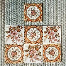 Traditional Spanish Tiles Decal Pattern Kitchen Bathroom retro vintage x7