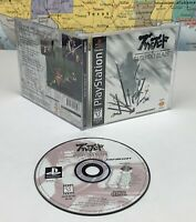 SHIPS SAME DAY Bushido Blade PlayStation 1 1997 PS1 Complete Black Label Rare
