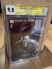 Dark Knight III: The Master Race #9 CGC SS 9.8 Greg Capullo Variant